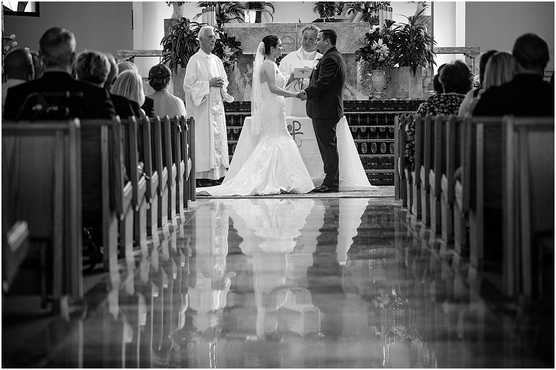 Wedding at Holy Redeemer Church Palm City photographer