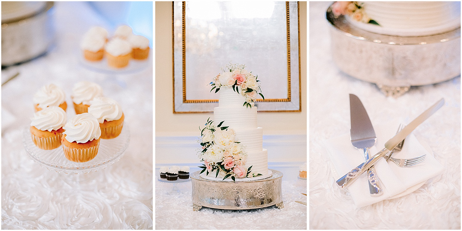 Cake table by Sweet Tiers at Willoughby Golf Club