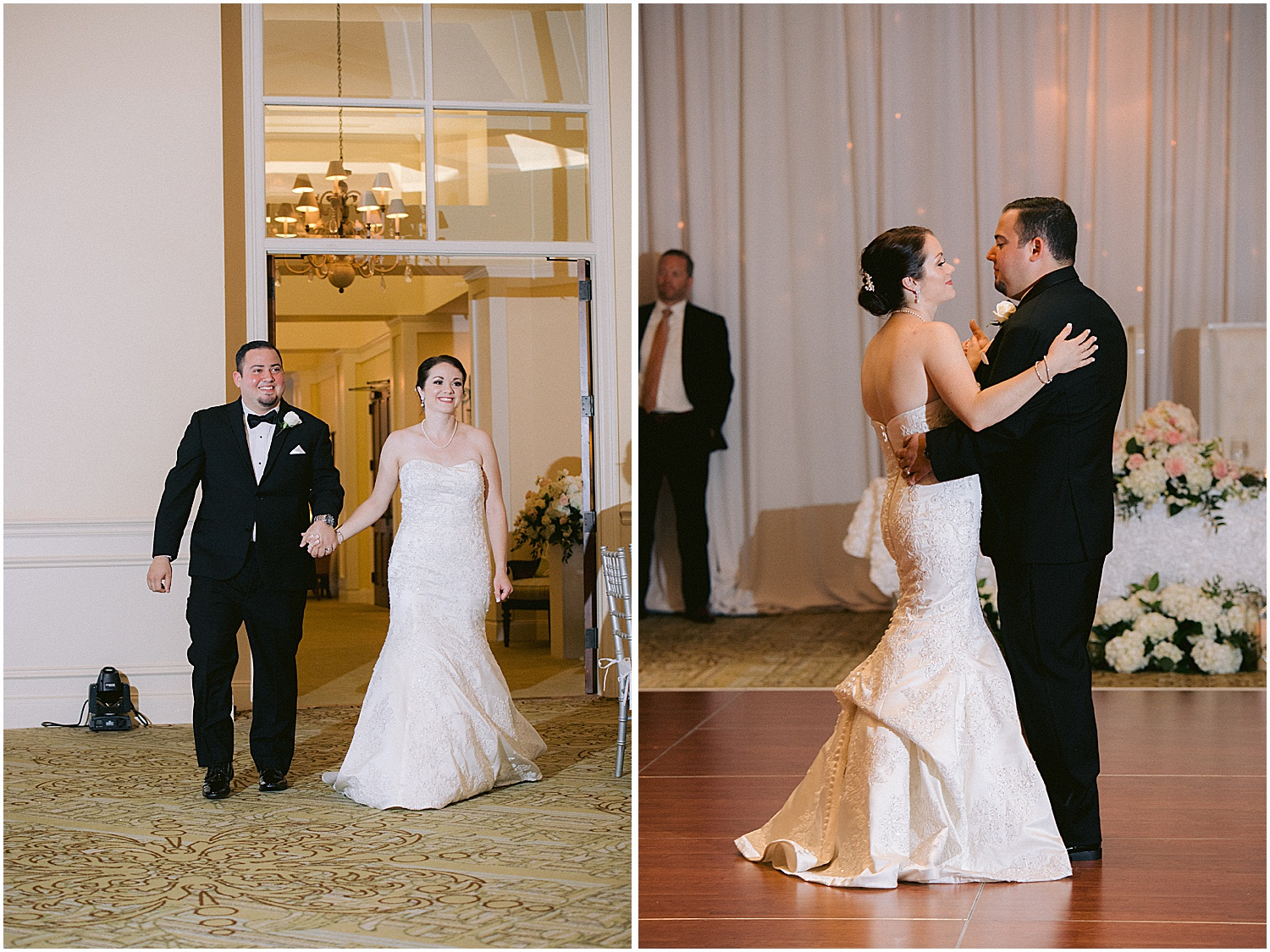First dance at Willoughby Golf Club Wedding