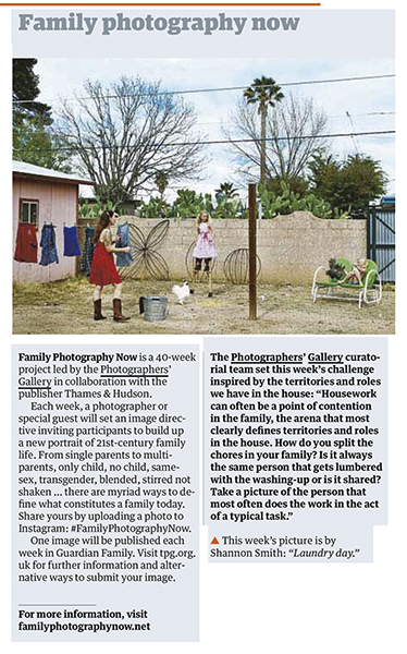 Clipping of work that appeared in  The Guardian , 2016