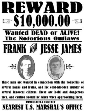 Frank and Jesse James reward poster.jpg