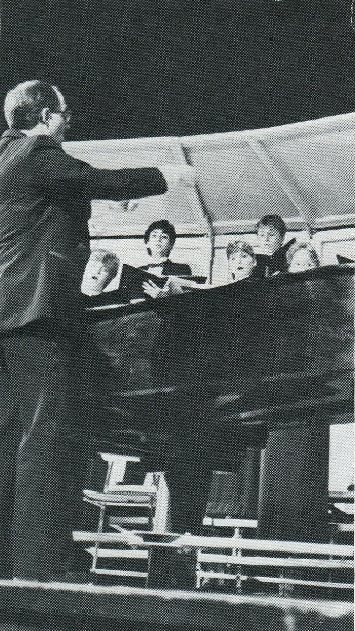 1987 Chamber Choir Performance
