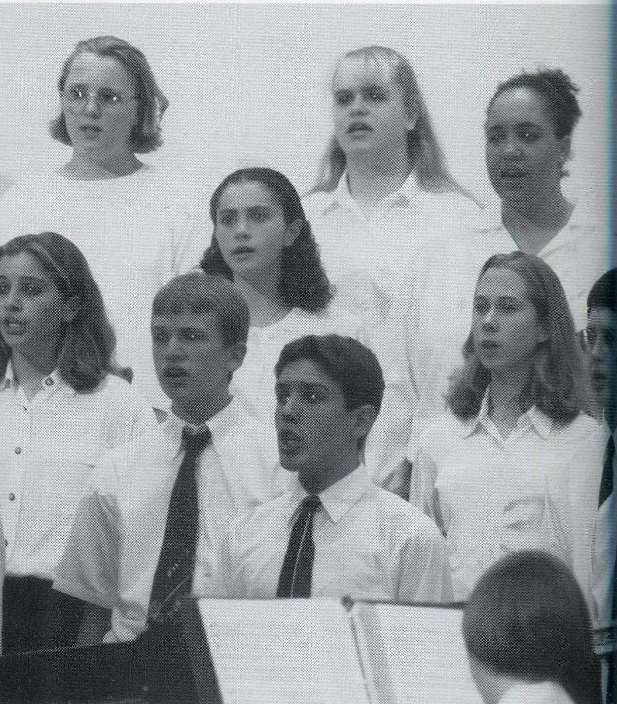 1991 Choir Performance