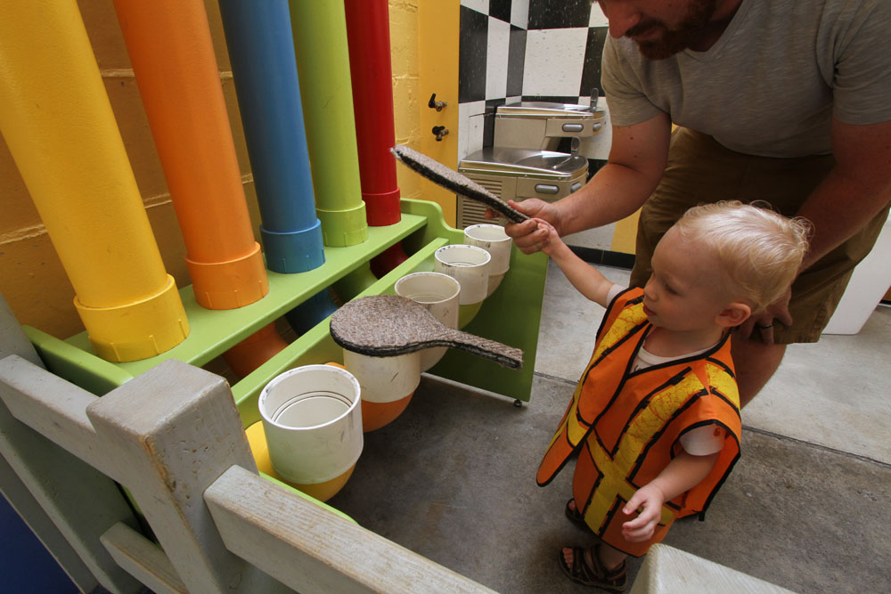 PIPE XYLOPHONE  Have a little drummer in the making? Grab a paddle and discover the noises you can make with the huge pipes!  WE ARE CURRENTLY IN NEED OF A SPONSOR! CALL FOR DETAILS!