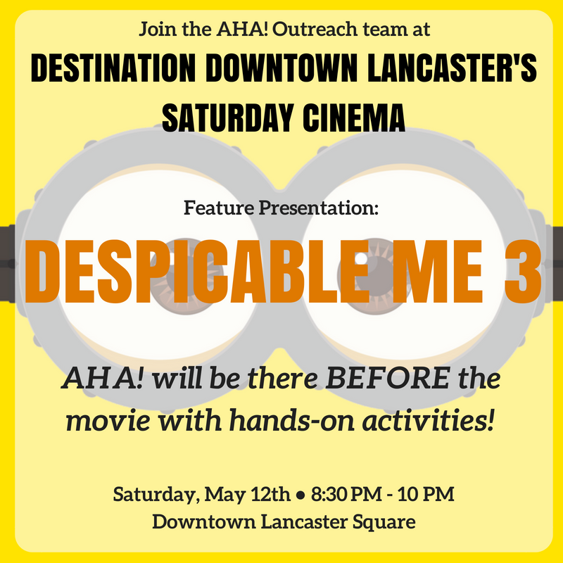 Saturday Cinema's Showing of Despicable Me 3.png