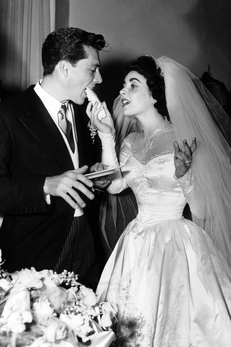 Elizabeth Taylor's wedding gown is perfect inspiration for a vintage bride | follow along on Instagram @ thewildflowers.events