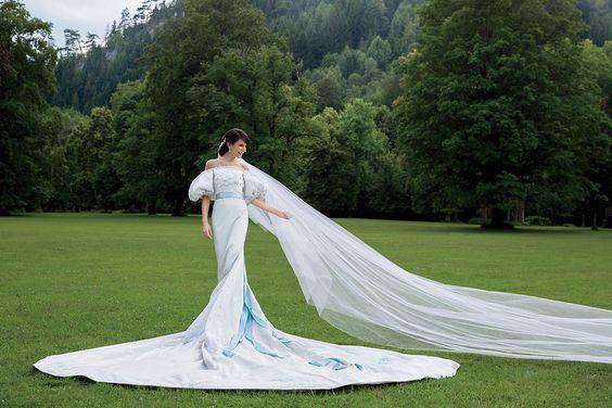 cathedral wedding veil