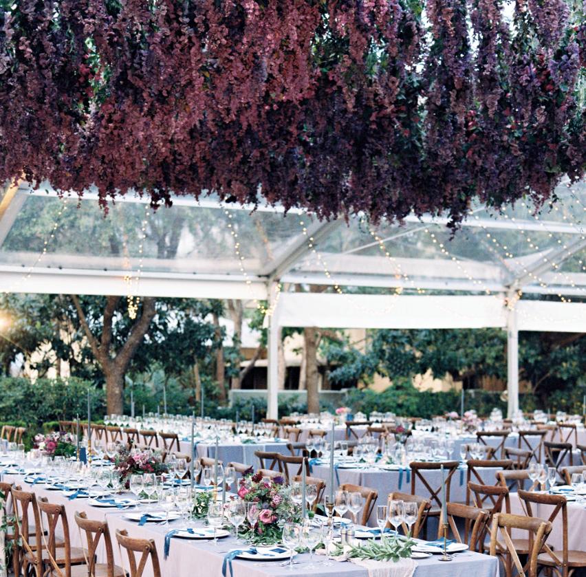 Samantha and Michael's San Antonio wedding featured in   Martha Stewart Weddings