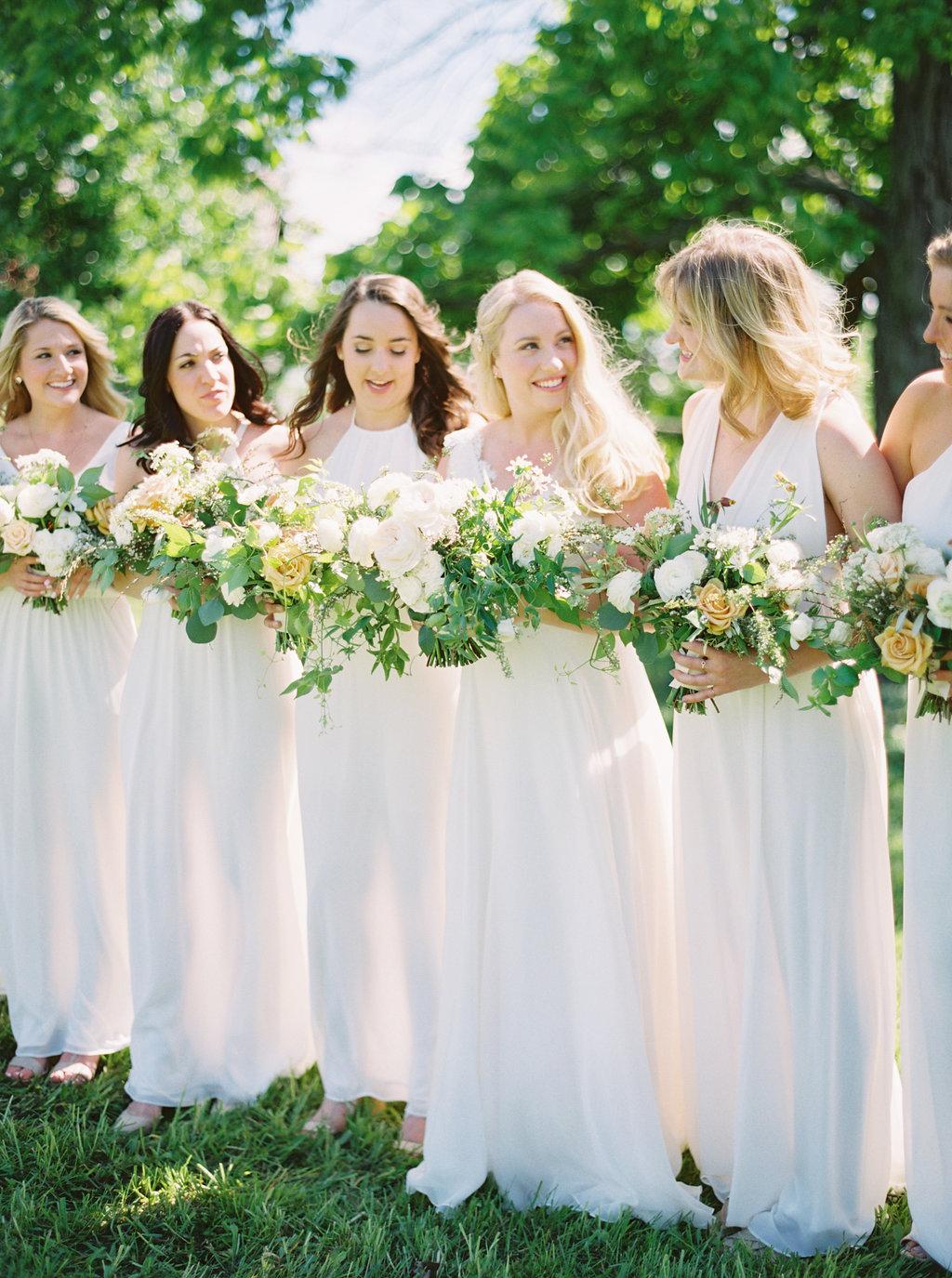 Natural barn wedding featured in   Wedding Sparrow