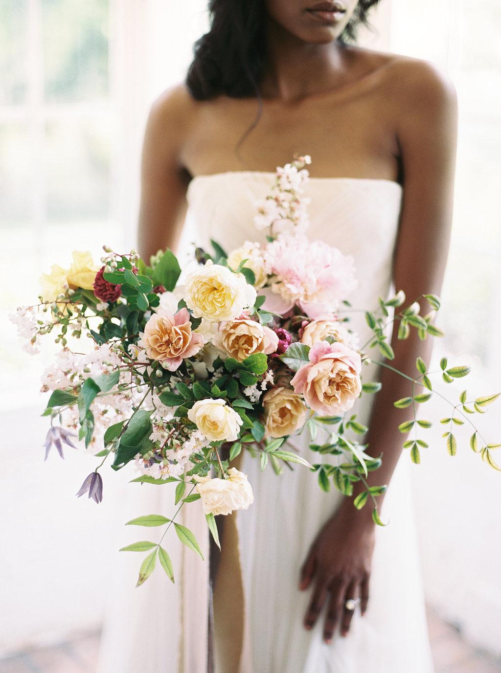 The Best Summer Bouquet by   Martha Stewart Weddings