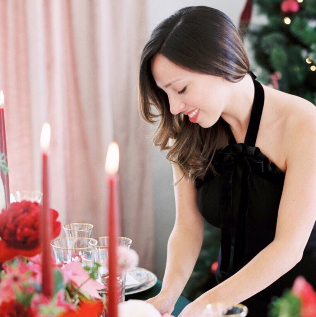 Holiday Entertaining Tips featured in   Style Me Pretty
