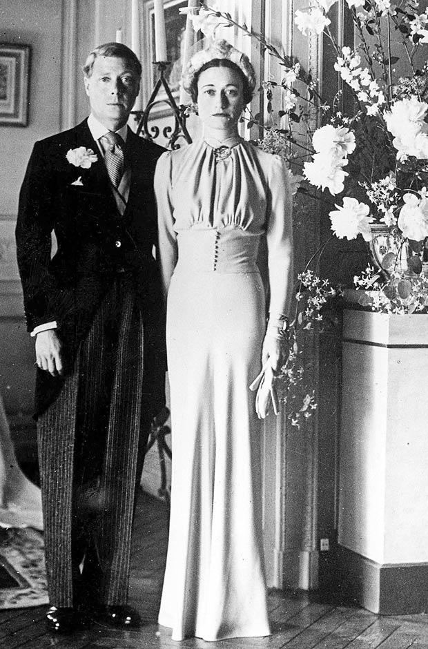Wallis Simpson and Prince Edward wedding