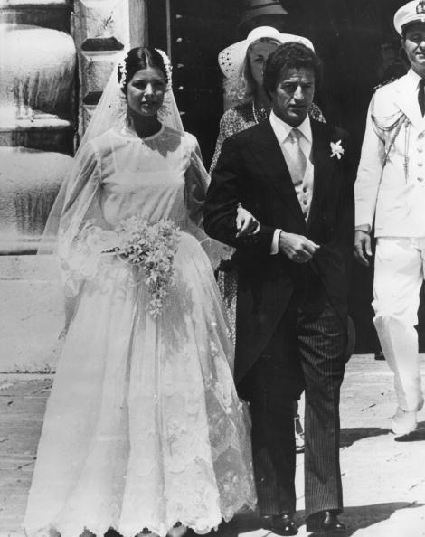 Princess Caroline and Philippe Junot wedding