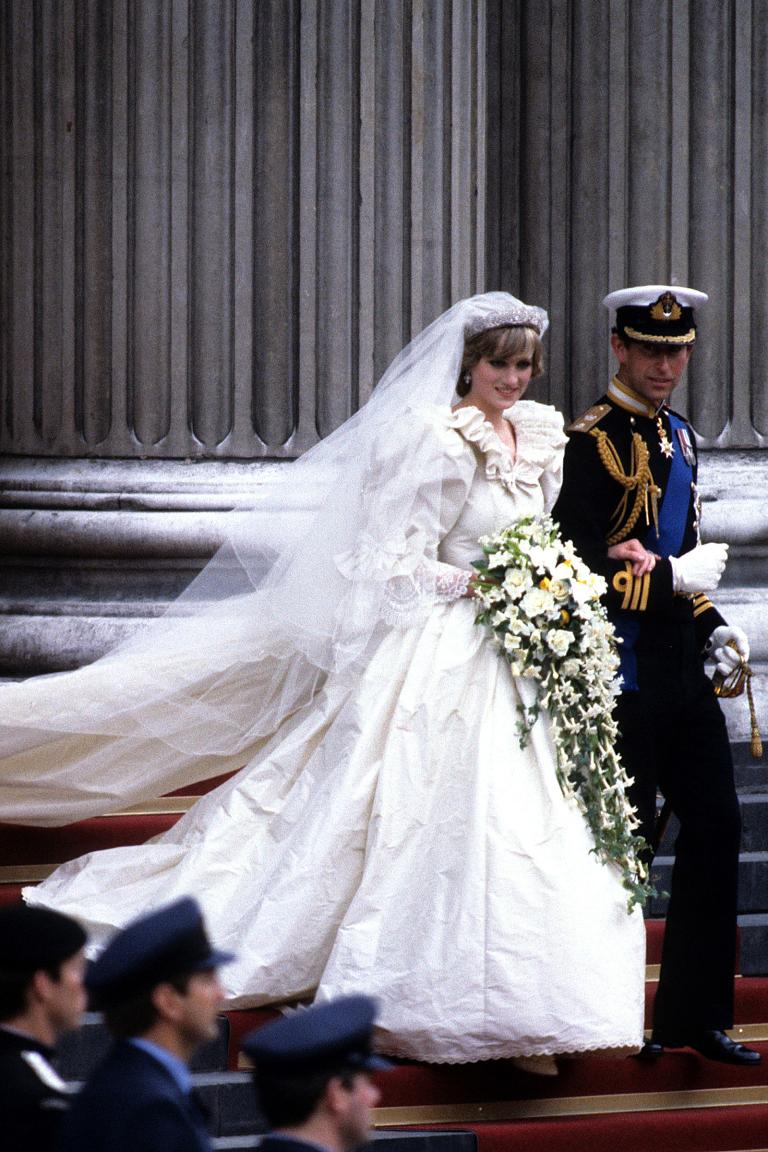 Princess Diana and Prince Charles of Wales wedding