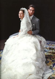 Princess Marie-Chantal and Prince Pavlos of Greece wedding