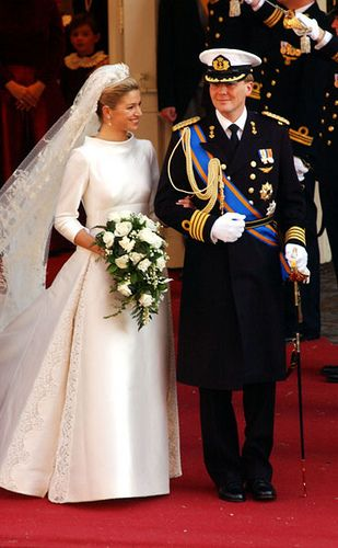 Prince Willem Alexander of the Netherlands and Maxima Zorreguieta wedding