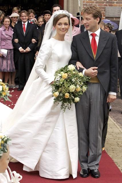 Prince Floris van Oranje-Nassau, van Vollenhoven and Aimée Sôhngen wedding