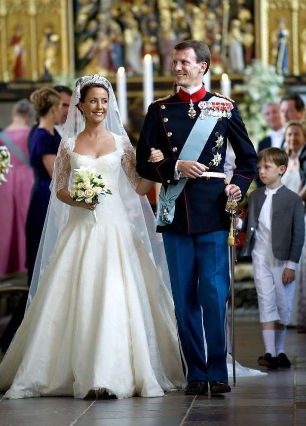 Prince Joachim and Princess Marie of Denmark wedding