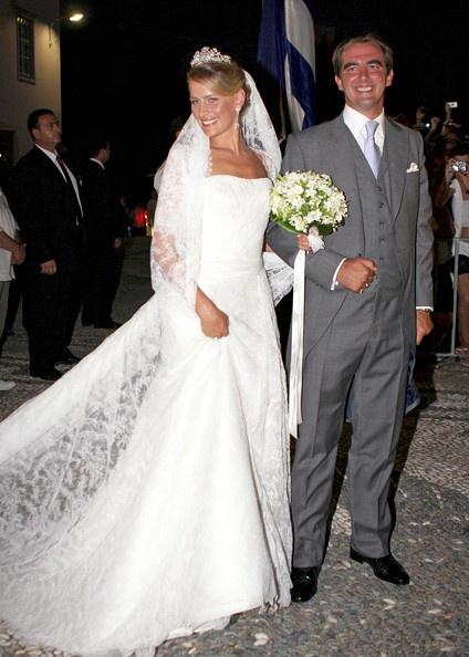 Prince Nikolaos of Greece and Tatiana Blatnik wedding