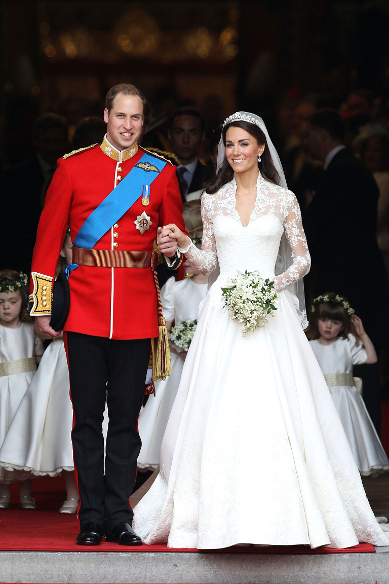 Prince William and Duchess of Cambridge Kate Middleton wedding