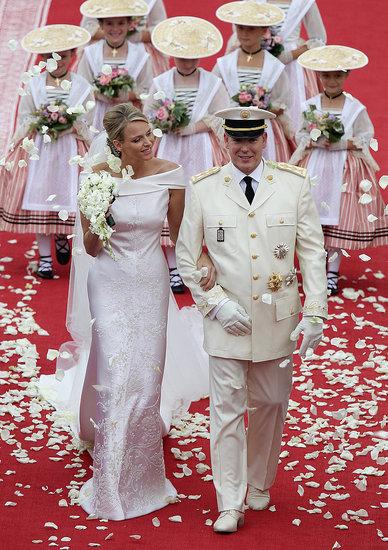 Princess Charlene and Prince Albert II of Monaco wedding