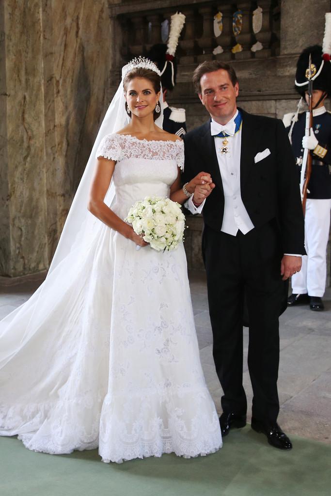 Princess Madeleine and Christopher O'Neill of Sweden wedding