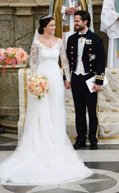Prince Carl Philip and Princess Sofia of Sweden wedding