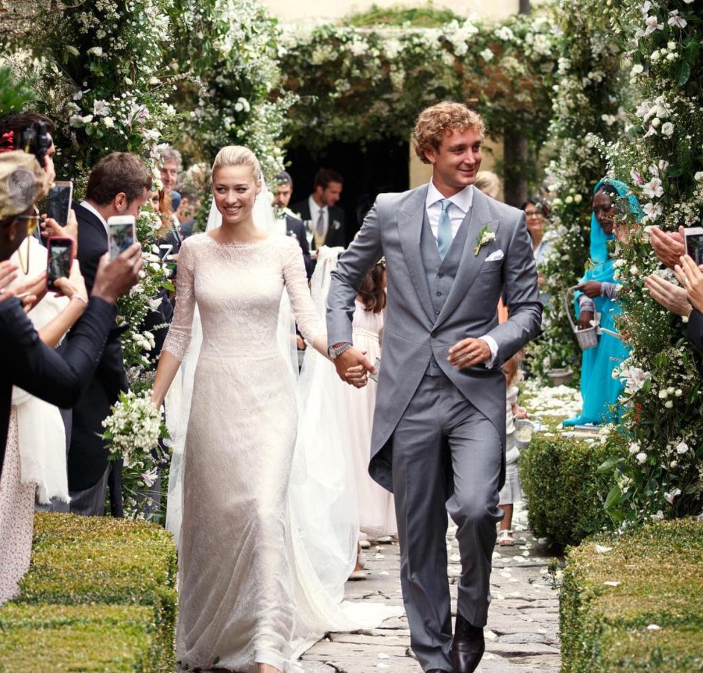 Beatrice Borromeo and Pierre Casiraghi wedding