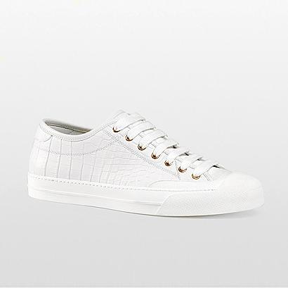 Gucci, White Crocodile - $1900
