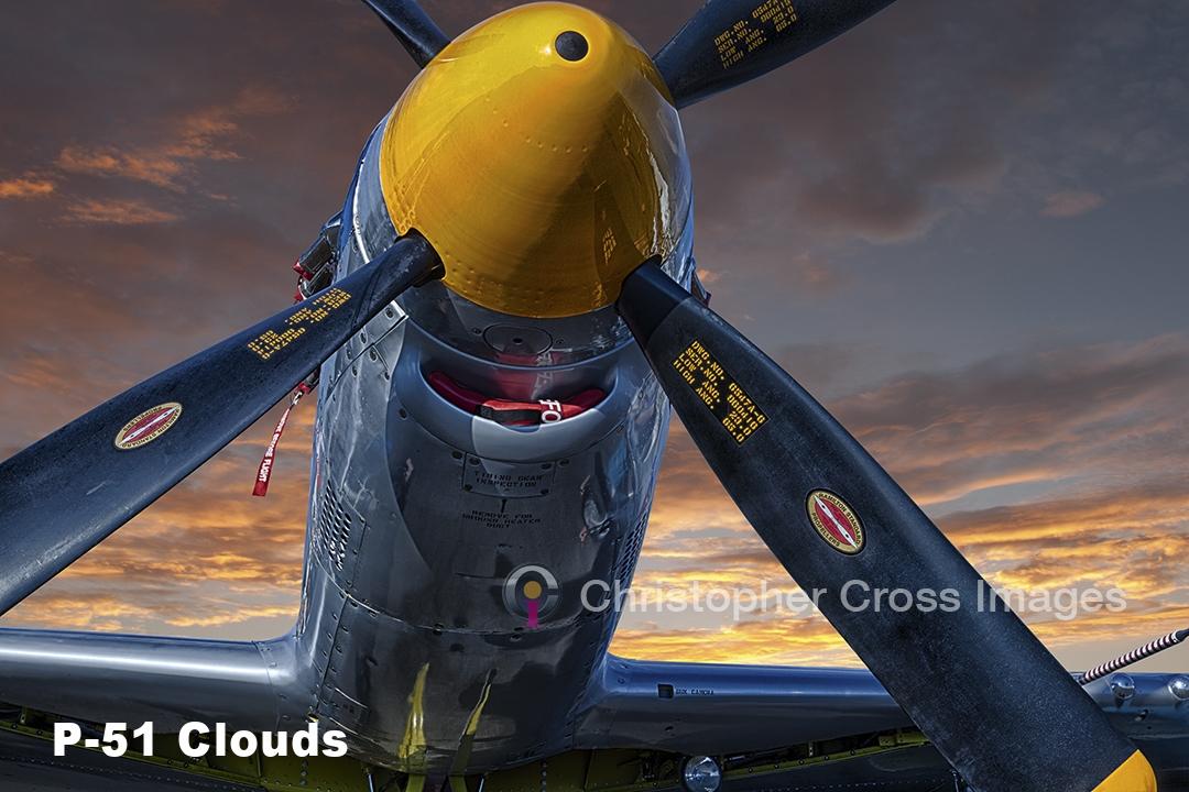 P-51 Sky Clouds