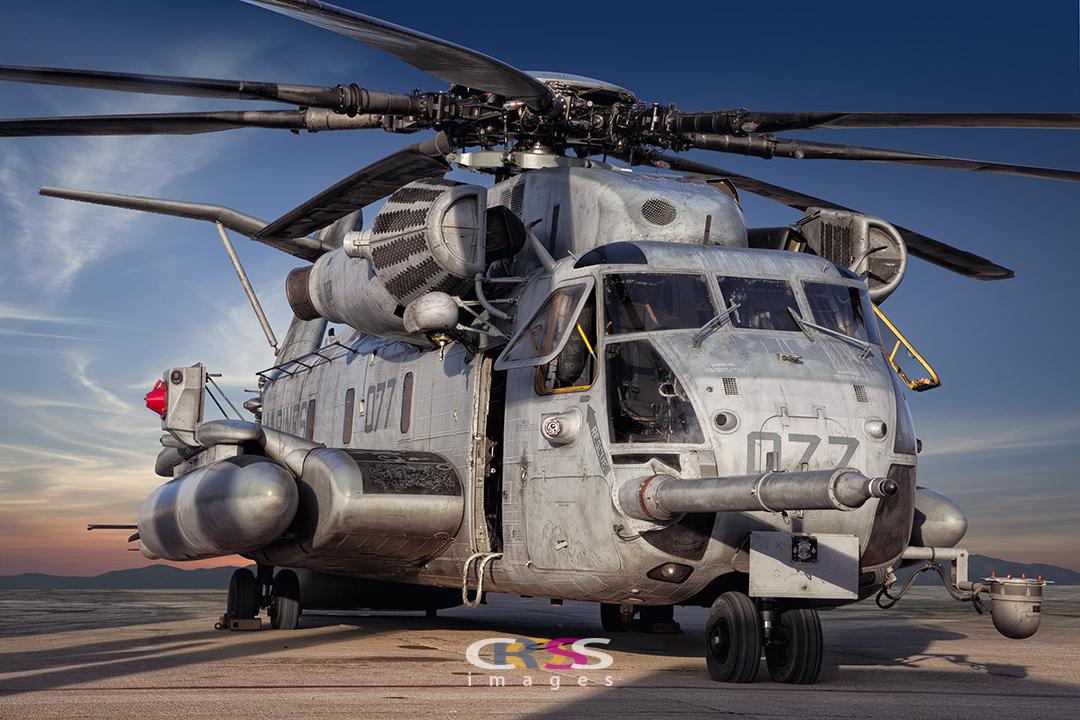 CH-53E Chopper at Miramar