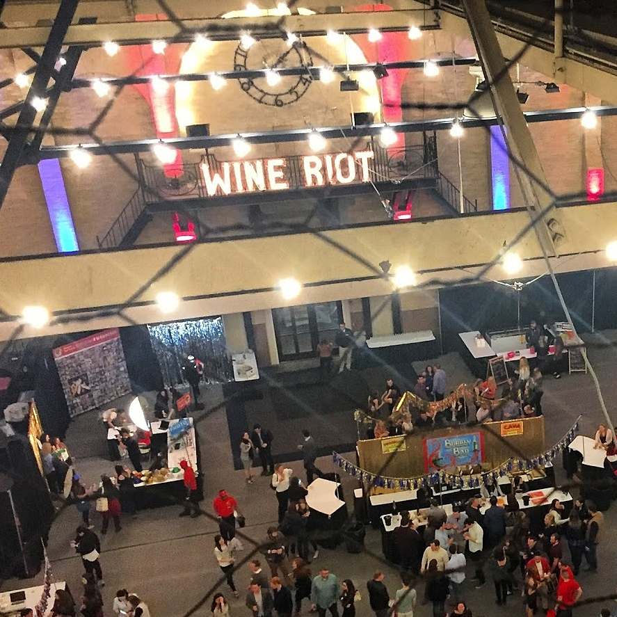 WINE RIOT - EVENT PRODUCTION | APRIL, OCTOBER & DECEMBER 2017 | BOSTON, MA | CHICAGO, IL | BROOKLYN, NY