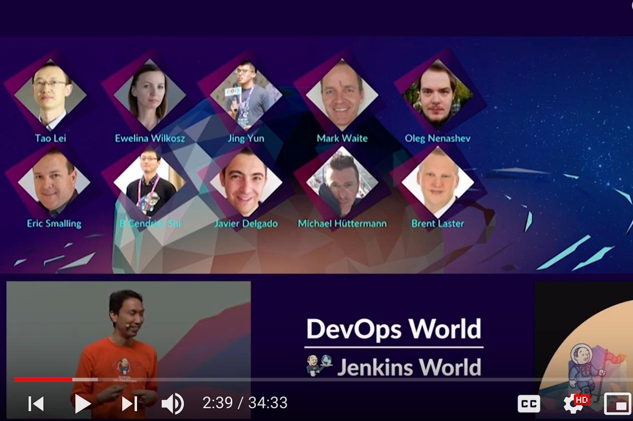DevOps World | Jenkins World 2018 Nice: Keynotes - October 22-25, 2018
