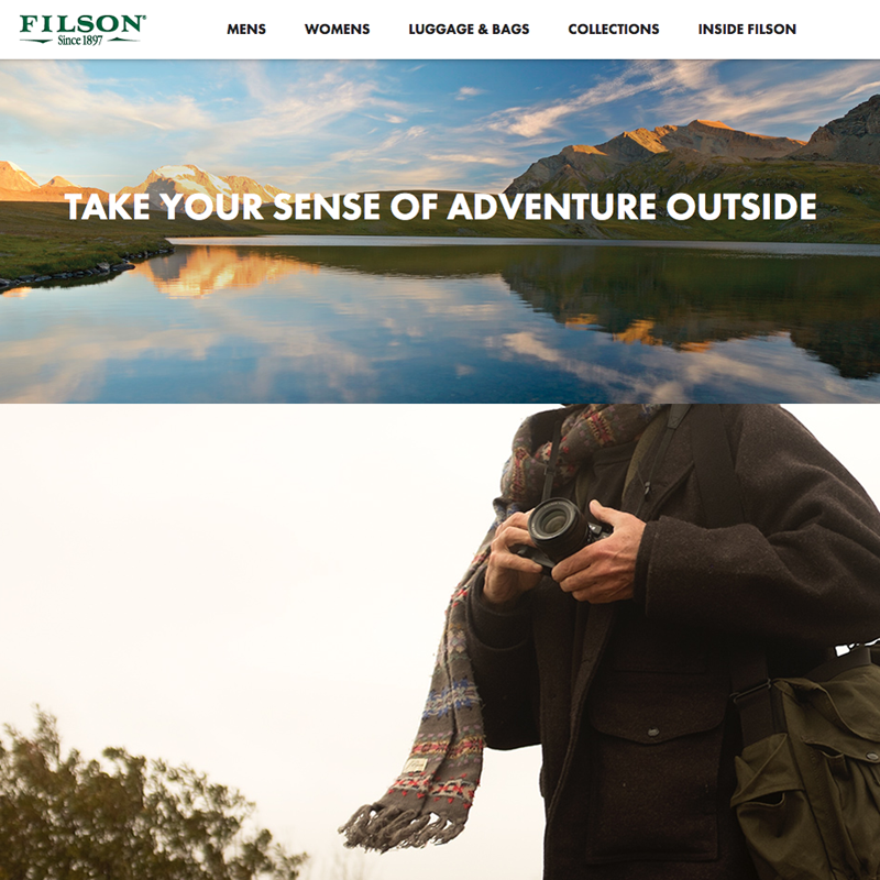 FILSON  Marketing • Branding  •   Editorial