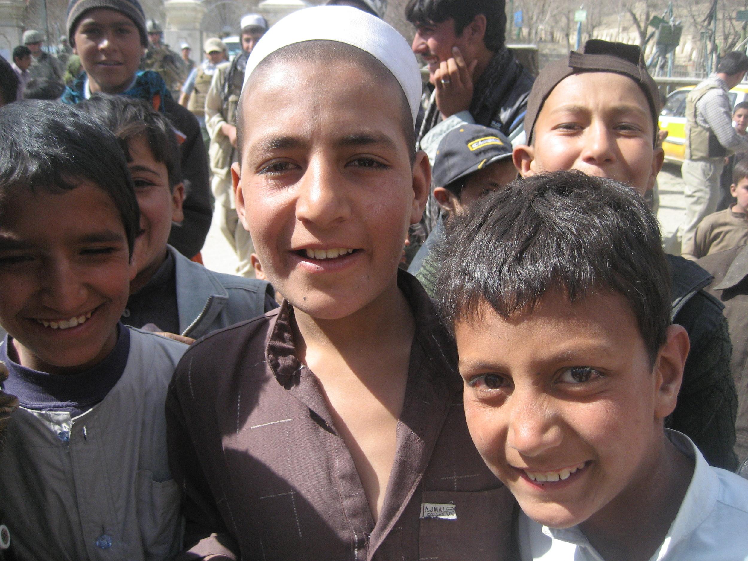 Curious Boys—Ghazni, Afghanistan