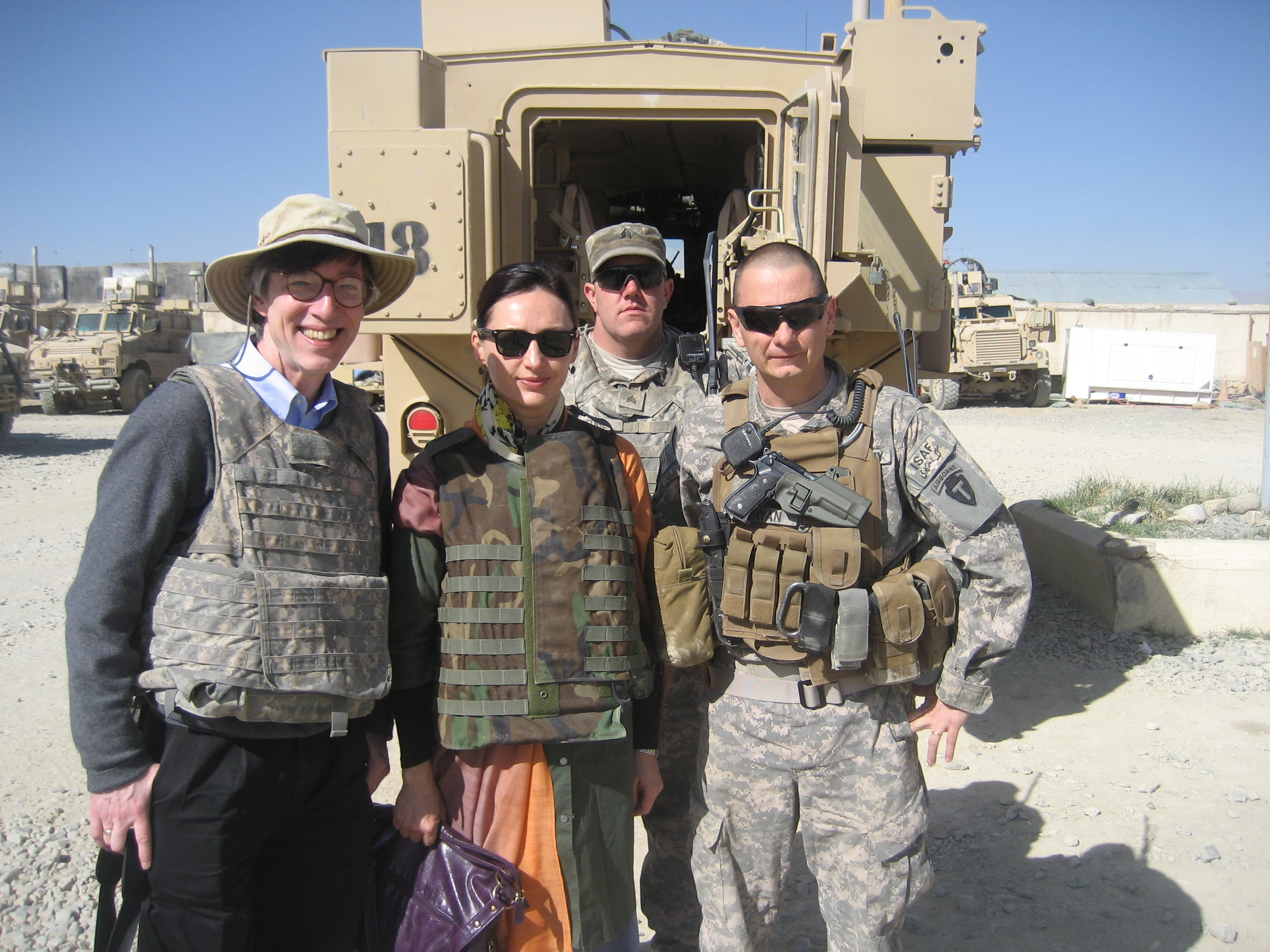 Ready for Another Mission—Ghazni, Afghanistan