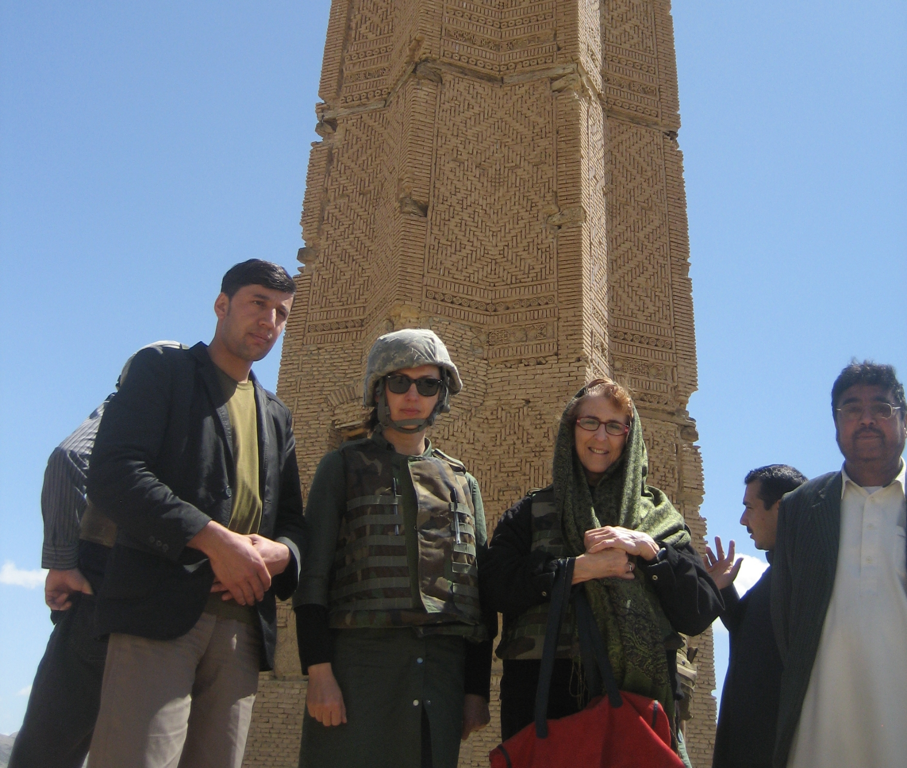 Ancient Ghazni Towers