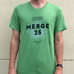 Merge 25 Green Festival T-shirt