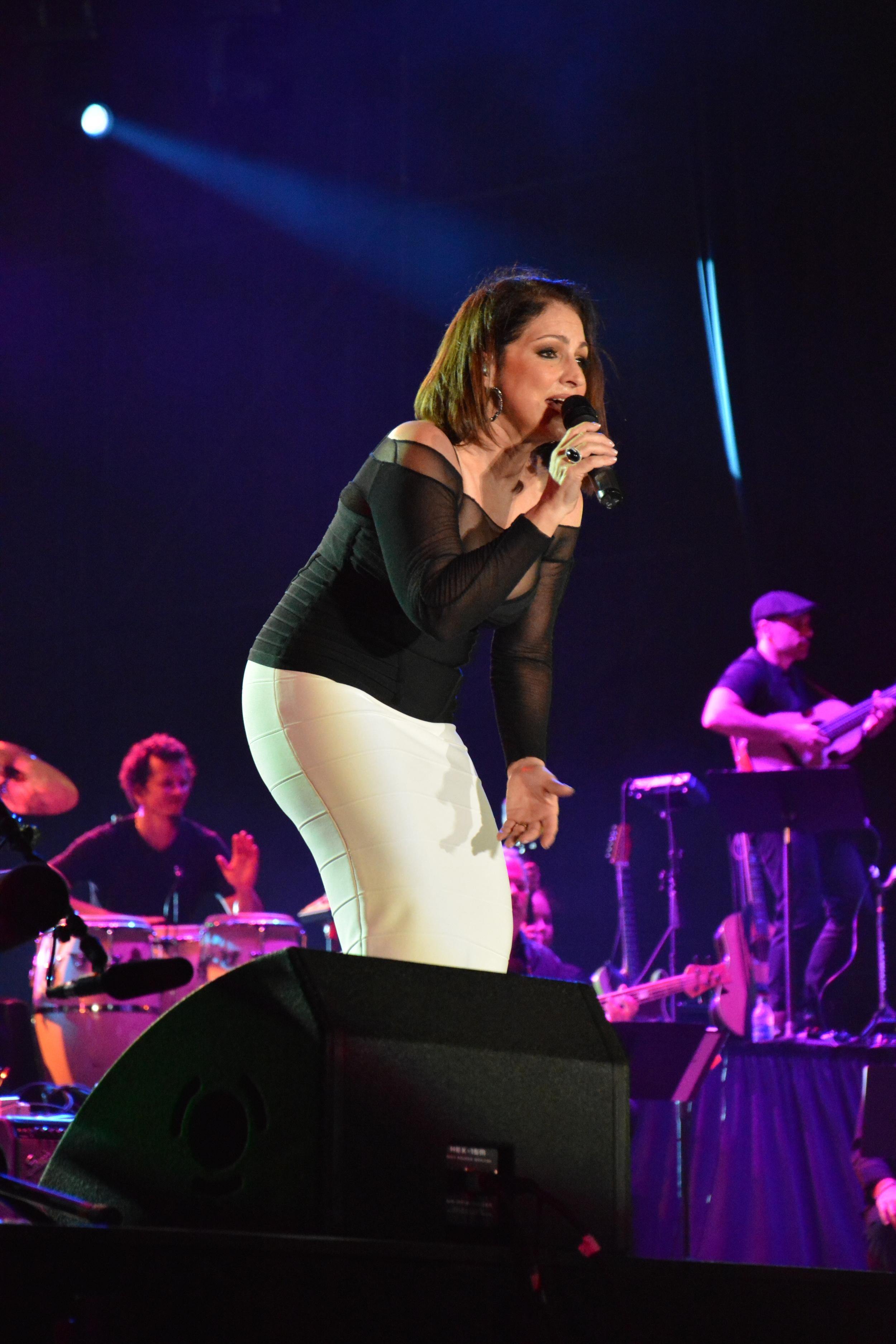 Miami music legend Gloria Estefan moves the crowd