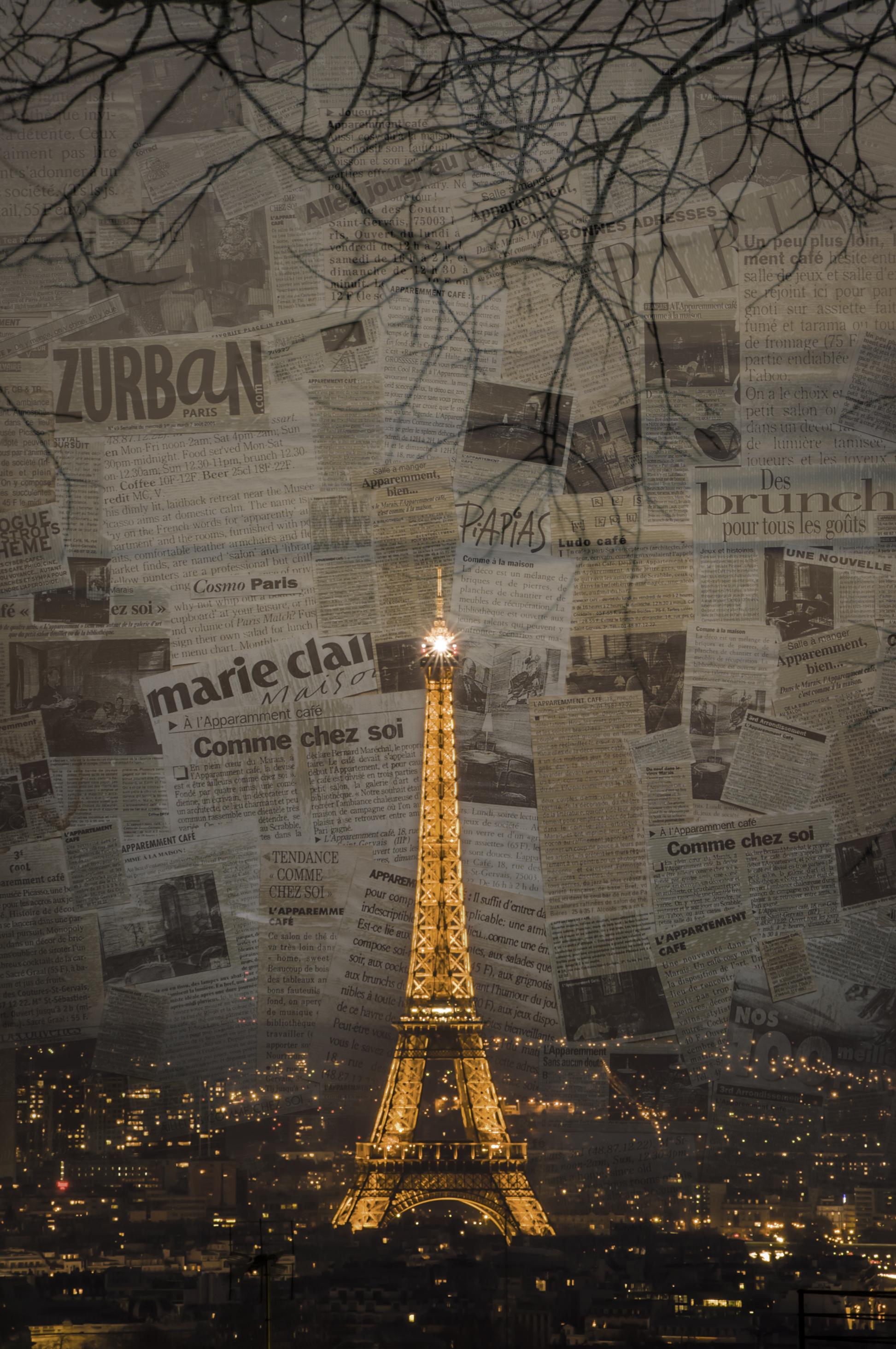 Comme Chez Soi   Paris Photo Montages