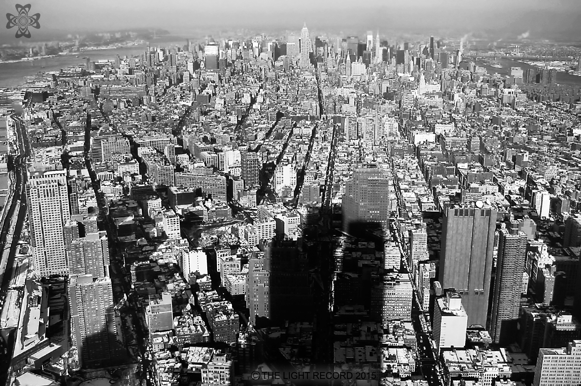 """""""View from Jim's Office"""" 2WTC 59th Floor January 03,2001"""