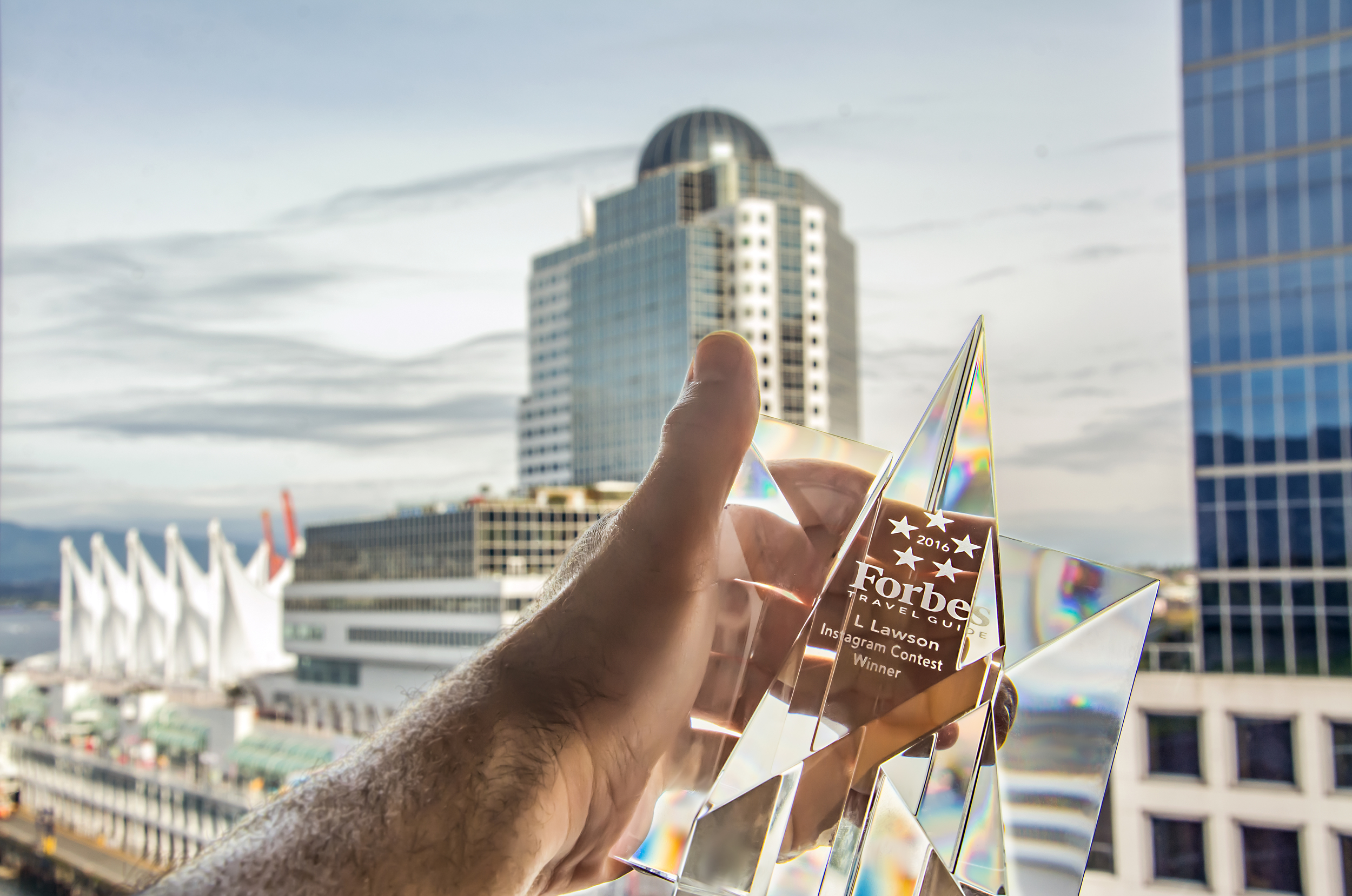 Forbes Travel Guide Crystal Star Winner 2016