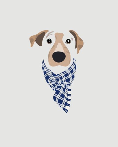 'Watson is the @medivolwines official mascot and we love this pic so much we are going to get him a similar scarf to wear in real life for all his future photo shoots!!!' - @medivolwines