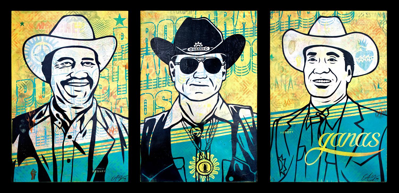 Ganas Basel Triptych 2009