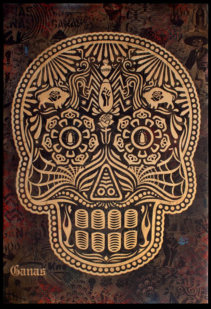 Dia De Los Muertos 2011 Gold