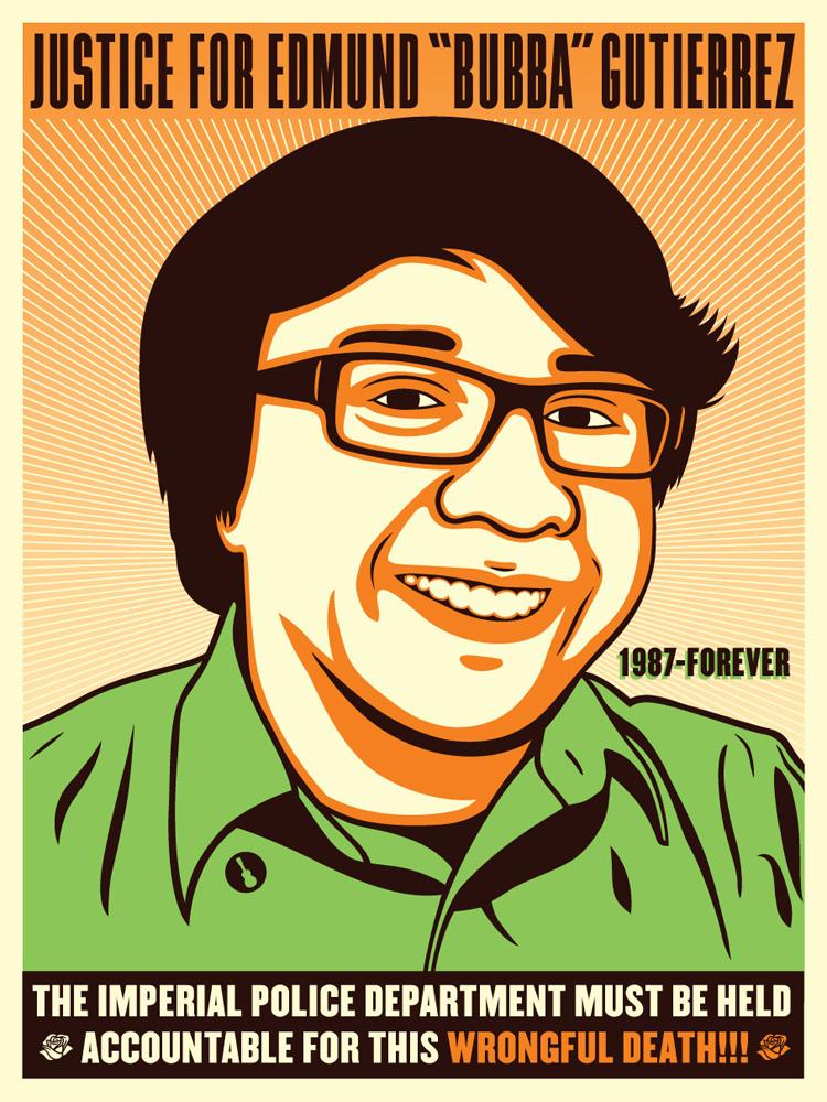 "Justice for ""Bubba"" Gutierrez"