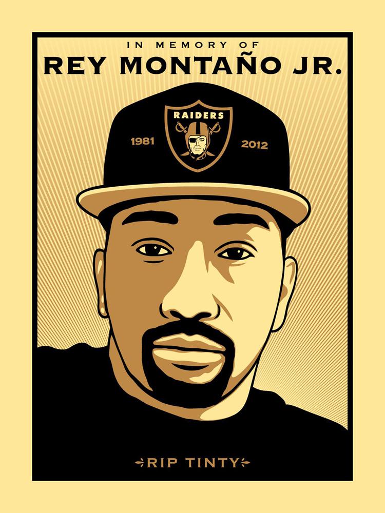 "In Memory of Rey ""Tinty"" Montaño Jr."