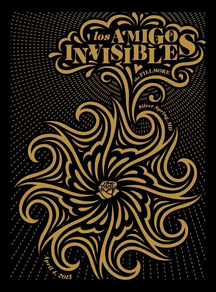 Los Amigos Invisibles Show Poster