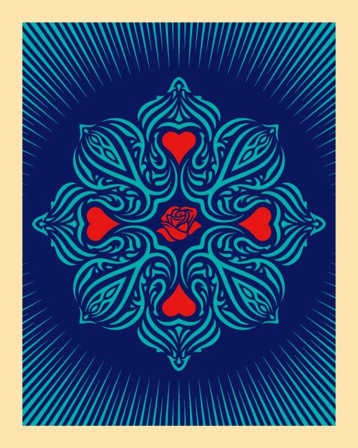 Ganas Dignity & Love Blue