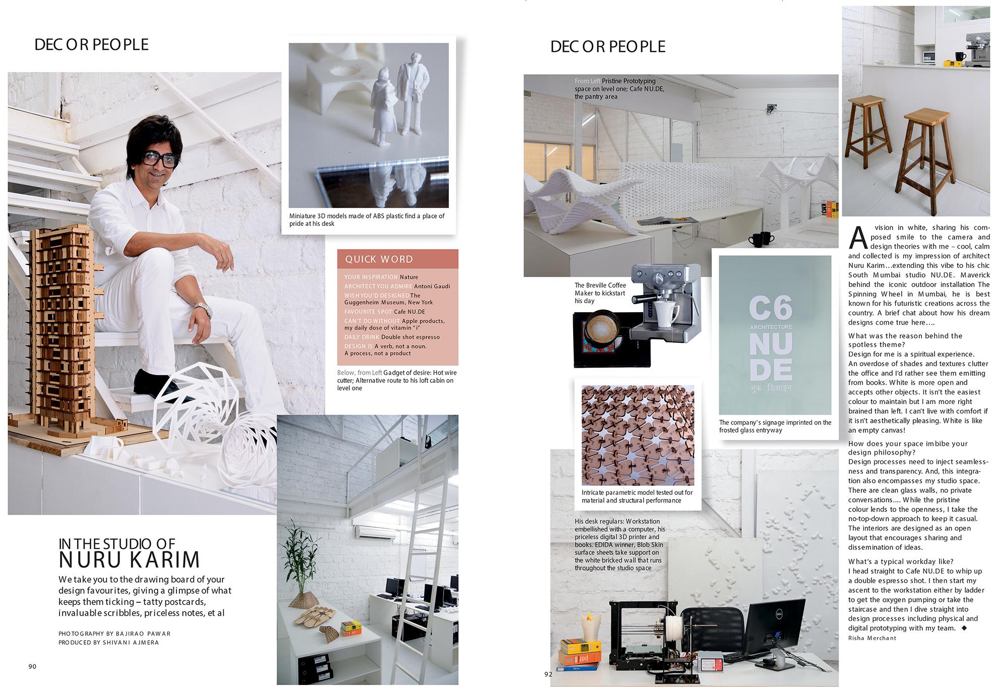 Image : Elle Decor publication; Decor People